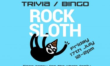 Rock Sloth Trivia and Bingo